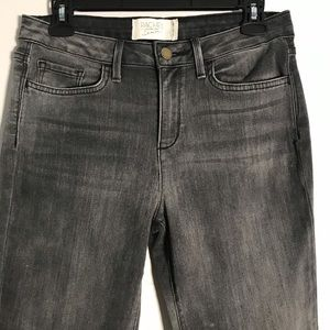Rachel Roy Skinny Jeans Sz 29 Gray Wash Denim